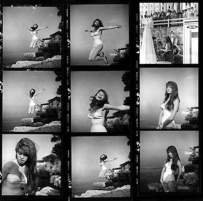 Bridgette Bardot (contact sheet), 1951.jpeg