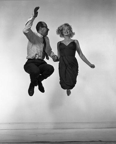 Marilyn Monroe and  Philippe Halsman, 1954.jpeg