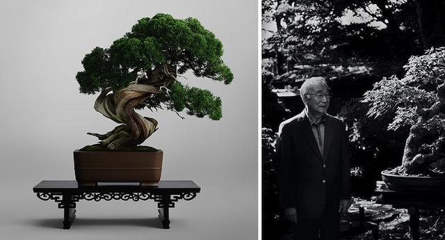 清香園 Seikou-en Owner, Tomio YAMADA