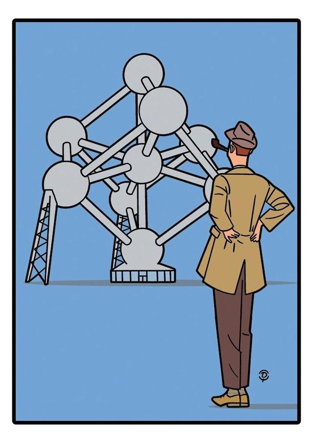 Delius Atomium TATI 1958
