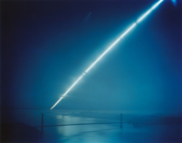 Ken Kitano, Golden Gate Bridge, San Francisco, CA, from the series Day Light, 2013, 40 x 48 inch Chromogenic Print