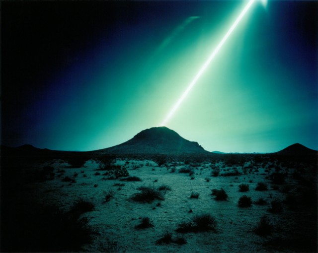 Ken Kitano, Mojave Desert, CA, from the series Day Light, 2013, 40 x 48 inch Chromogenic Print