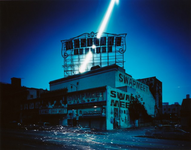 Ken Kitano, Westlake Theatre, Los Angeles, CA, from the series Day Light, 2013, 20 x 24 inch Chromogenic Print