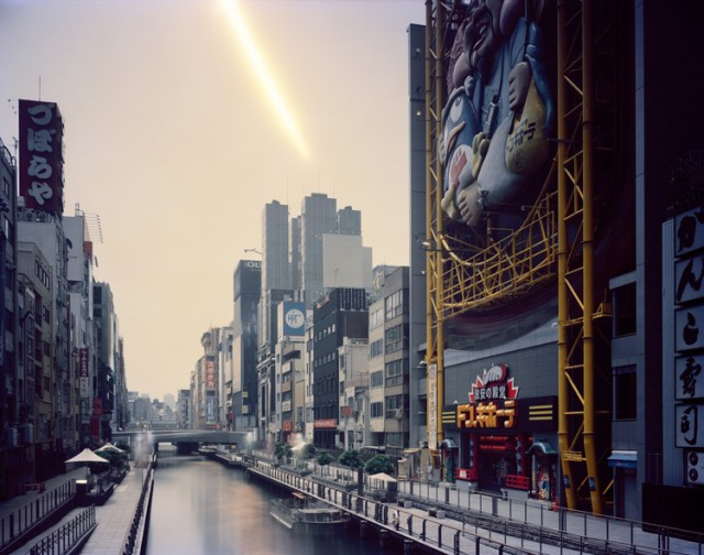 Morning to Evening, Dotonbori, Osaka, from the series 'One Day,' 2008