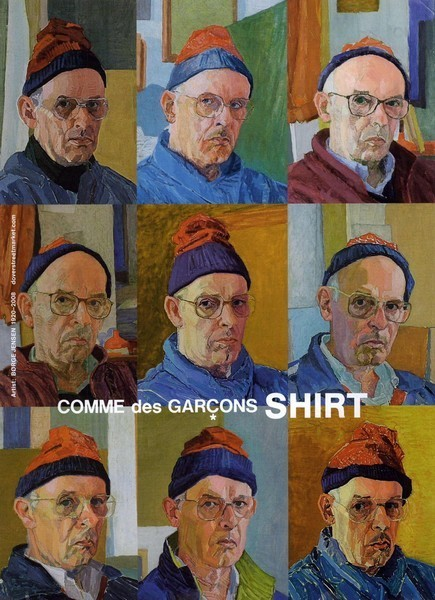 8-Comme des Garçons S:S09, Painting by Berge Jensen