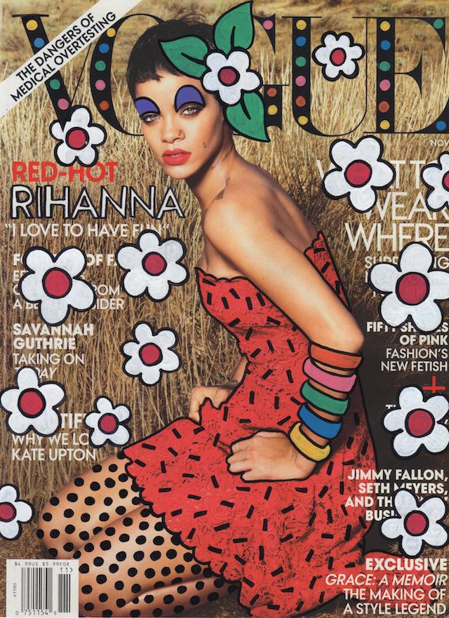 Vogue-Rihana