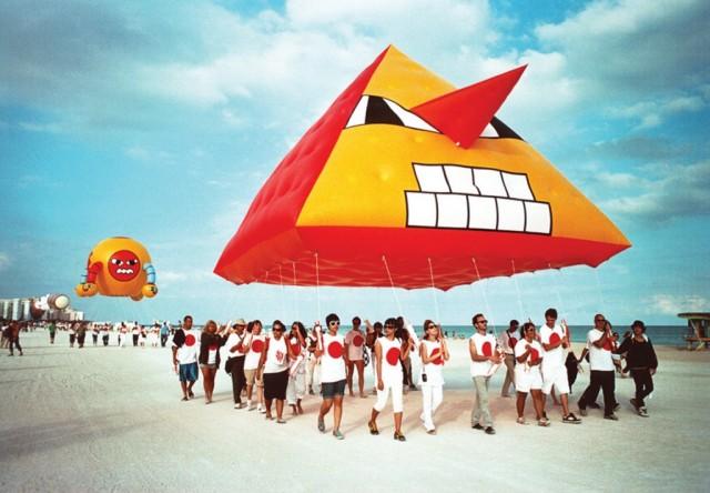 SKYWALKERS, ART BASEL MIAMI, FL 2006-7