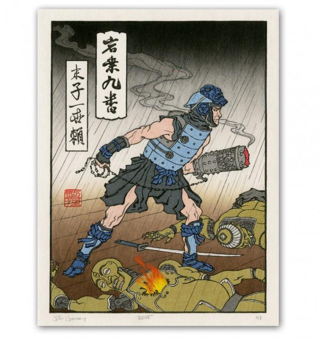 Blue Storm-洛克人