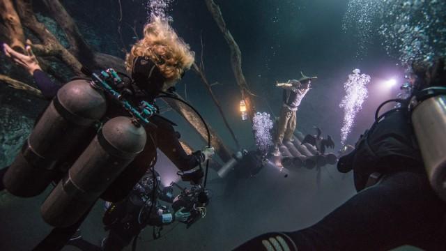 Ballantine's Presents Benjamin Von Wong's Underwater River - Hero BTS Image
