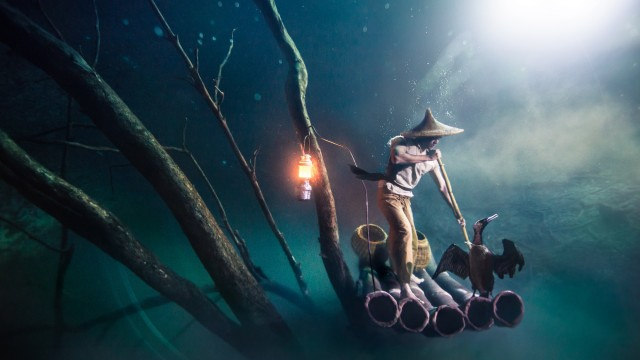 Ballantine's Presents Benjamin Von Wong's Underwater River - Hero Image