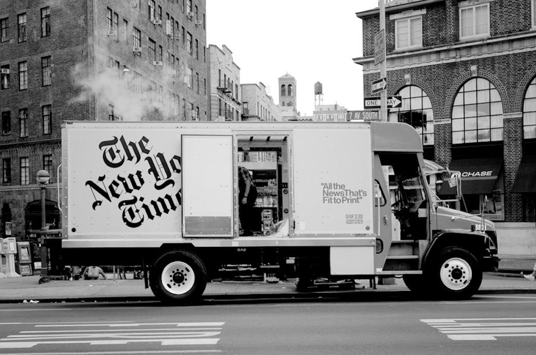 1942年,人们是如何手工制作一份《纽约时报》的?