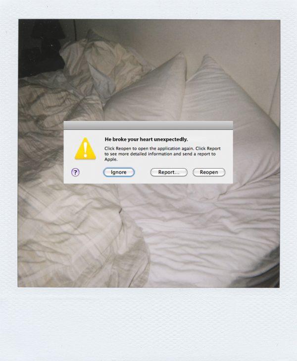 当情感的错误码出现:那些生活中逃不开的小小bug与error page